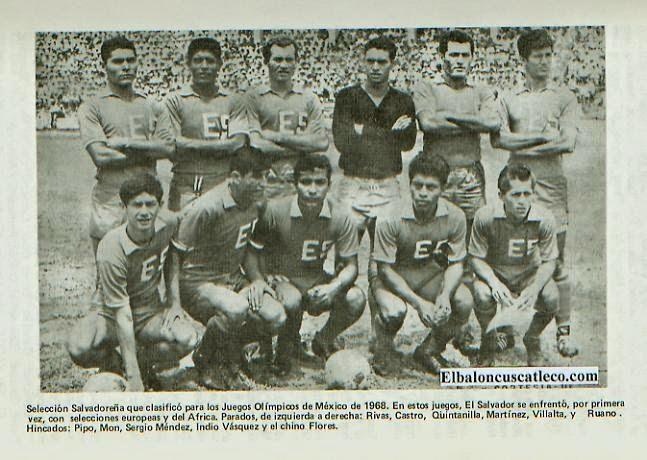 Resultado de imagem para Seleção Salvadorenha de Futebol 1970