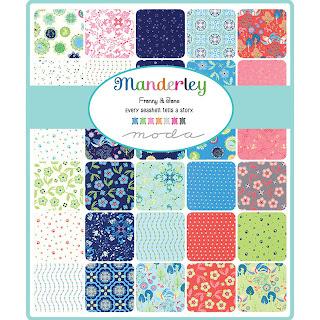 Moda Manderley Fabric by Franny & Jane for Moda Fabrics
