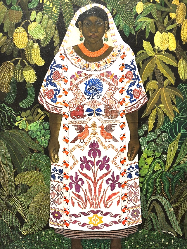 Ramon Cano Manilla - indienne d'oaxaca