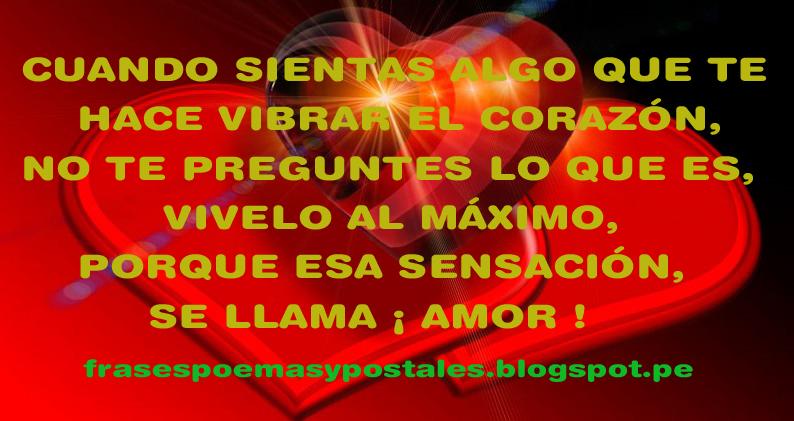 Frases Reflexiones Y Postales Frases Sobre El Amor