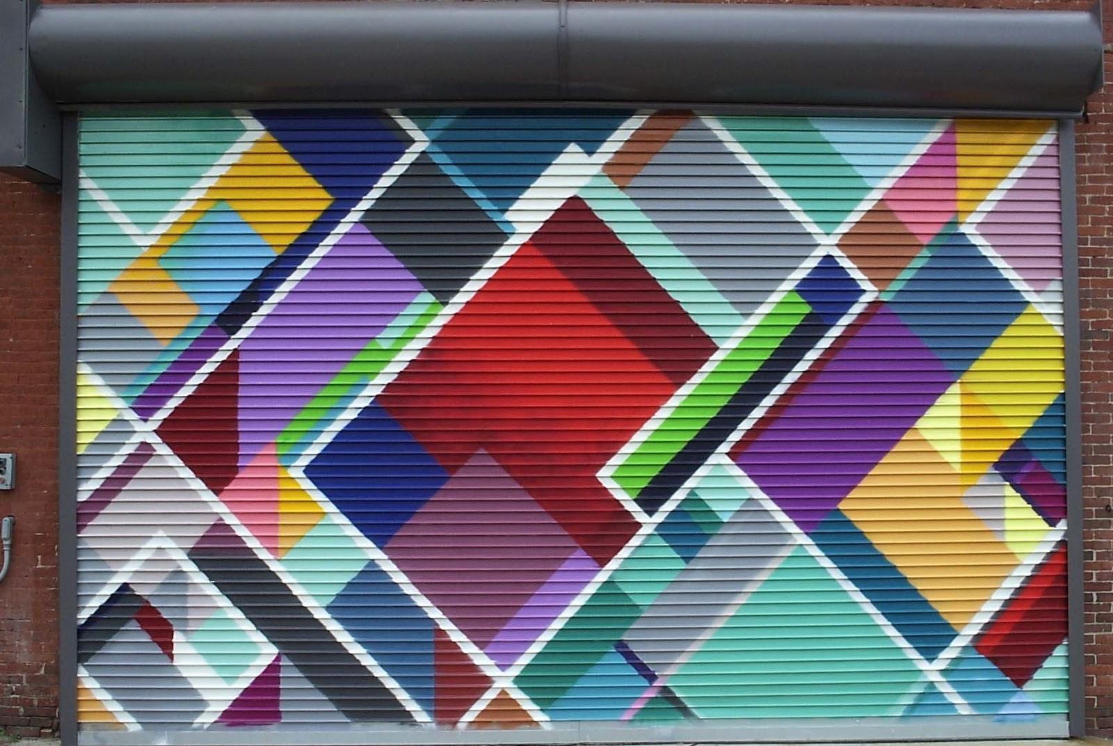 Friends Of Art Manchester Garage Door Mural