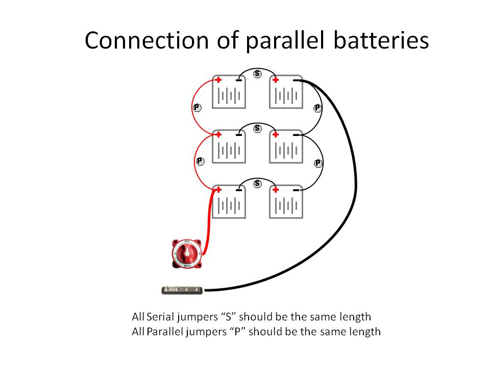 Mv Vikingstar Proper Wiring Of Batteries In Parallel