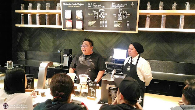 Salleh Haron, Ayesha, Coffee Master, Starbucks Coffee Reserve, Genting Highlands,