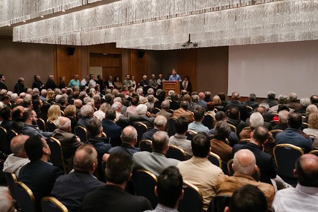 Γιάννενα: Πλήθος κόσμου στην ομιλία του Νίκου Ανδρουλάκη