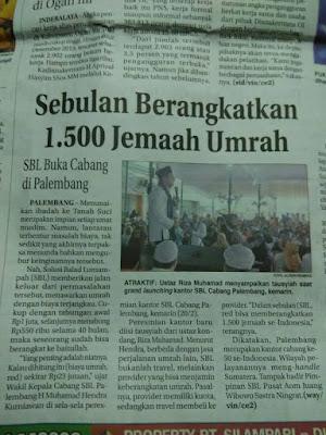 Sebulan Berangkatkan 1500 Jemaah Umroh