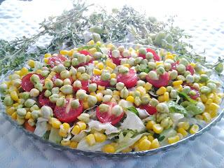 nohutlu salata tarifleri