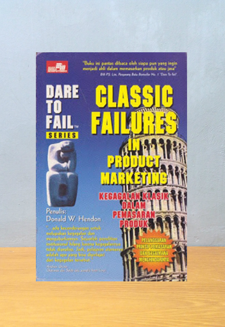 CLASSIC FAILURES IN PRODUCT MARKETING, Donald W. Hendon