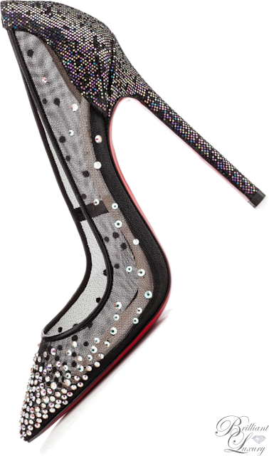 Brilliant Luxury ♦ Christian Louboutin 'Body' Strass Pumps