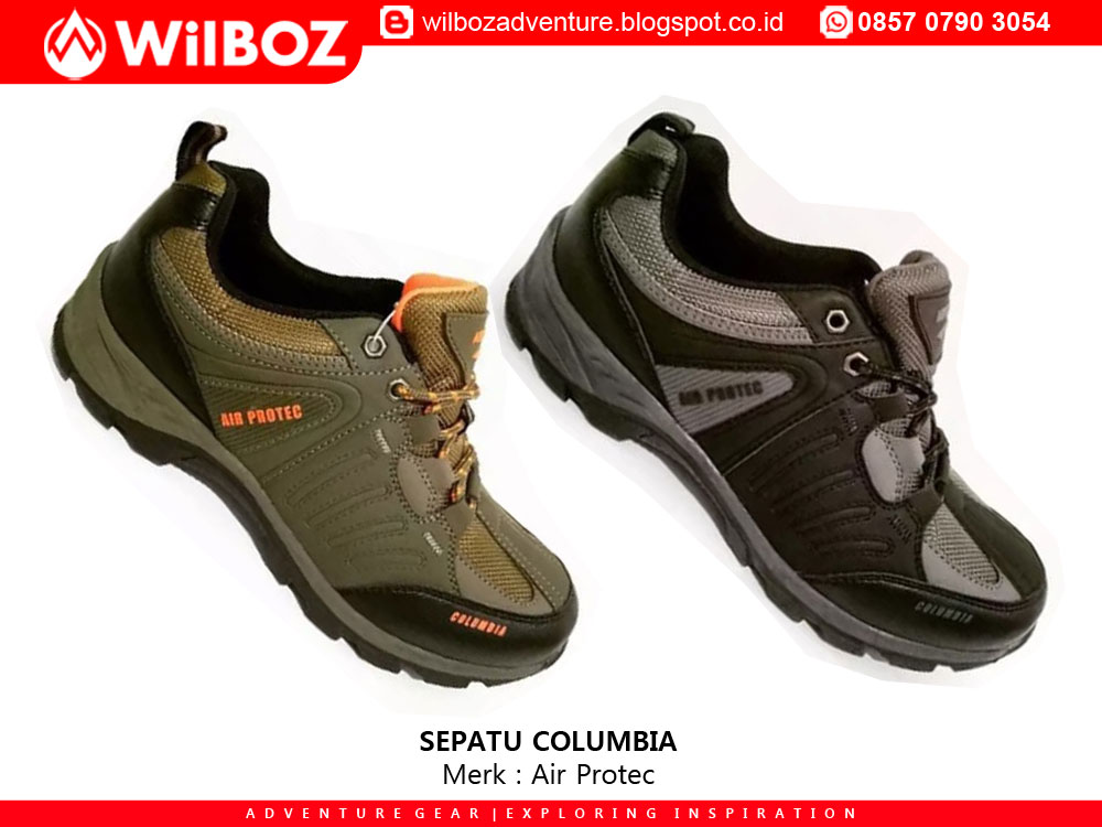 Sepatu Gunung Air Protec Tipe Columbia - Toko Outdoor Wilboz ... a4a612dbb4