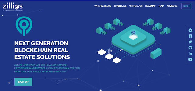 Zillios Token review- Real estate solution powered by Blockchain