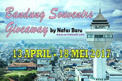 """Bandung Souvenirs Giveaway by Nafas Baru"""
