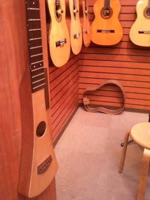 Guitar trial purpose room