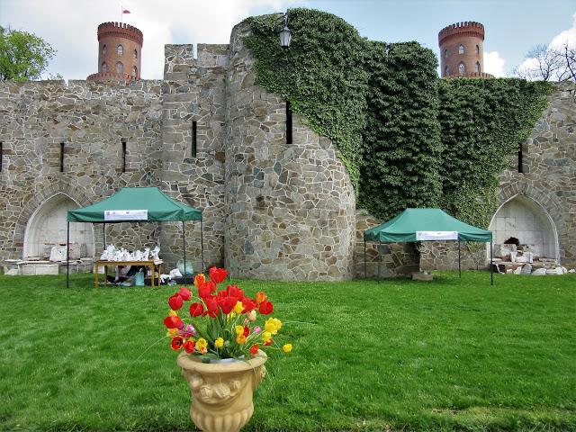 Święto Tulipanów w pałacu Marianny Orańskiej w Kamieńcu Ząbkowickim