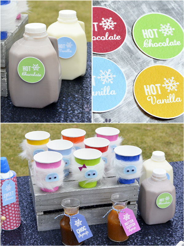 Bumble Winter Bash   A Yeti Inspired Playdate Party - via BirdsParty.com
