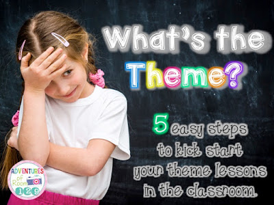 Steps for teaching theme
