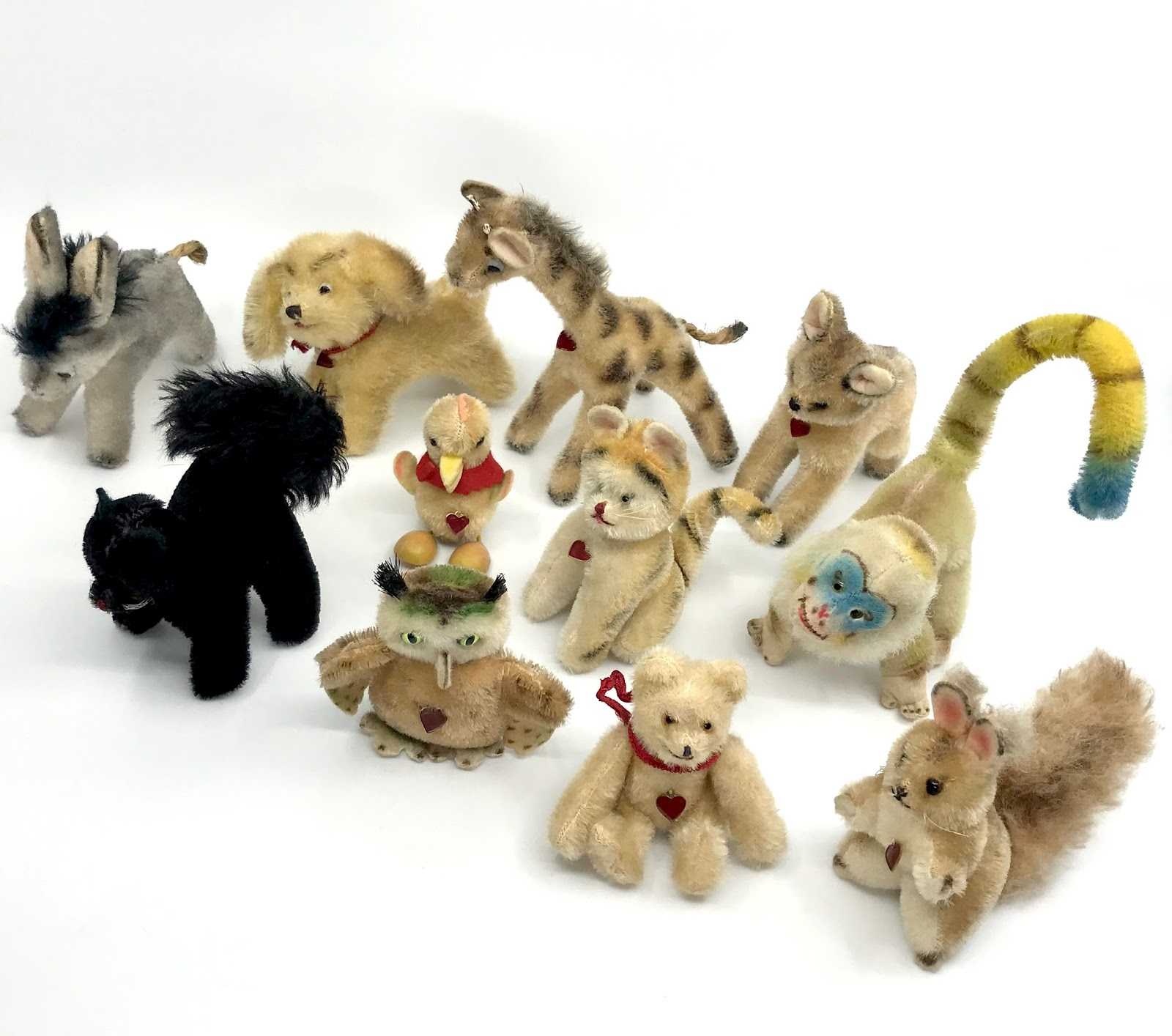 History of stuffed toys