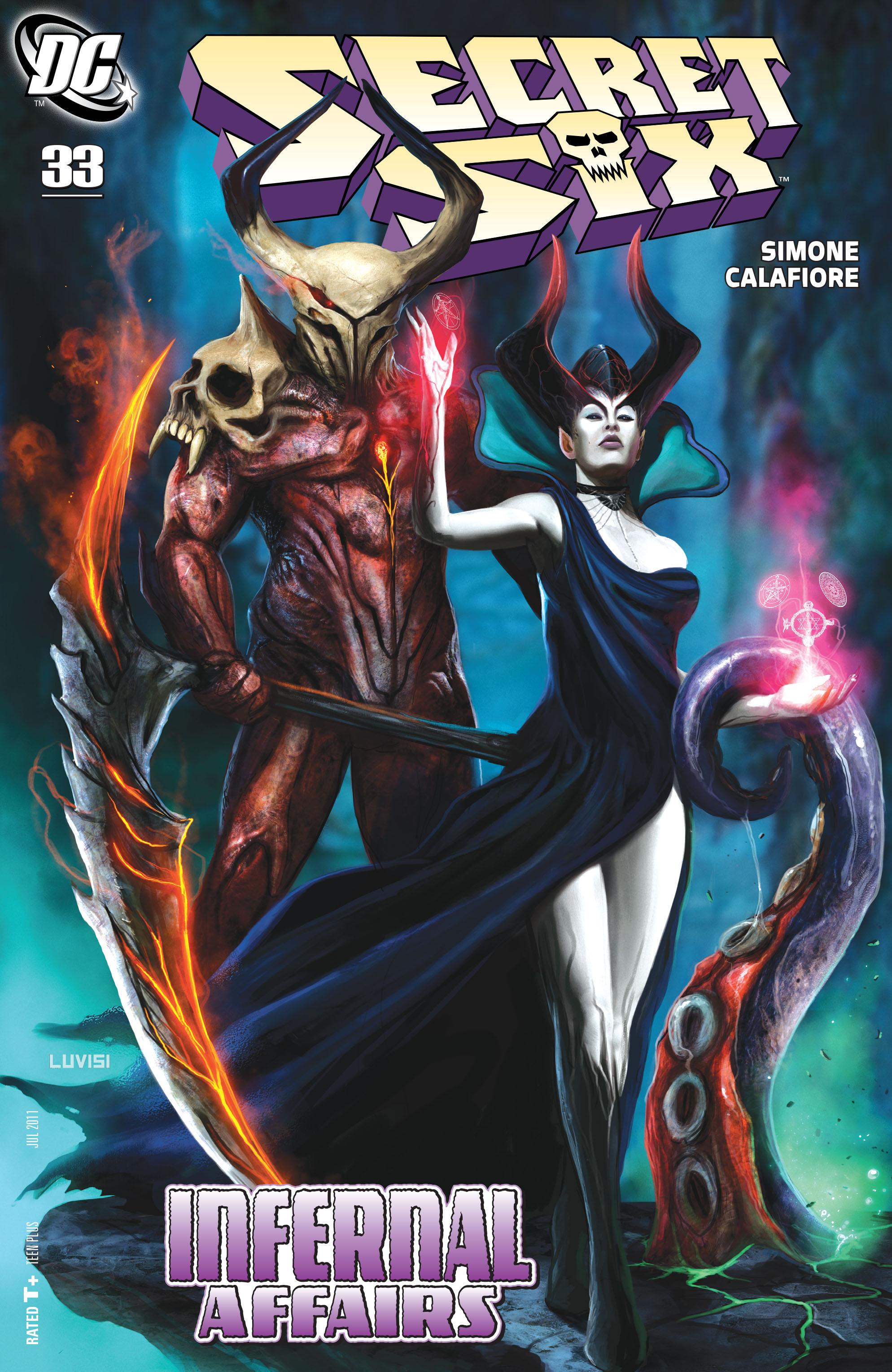 Read online Secret Six (2008) comic -  Issue #33 - 1