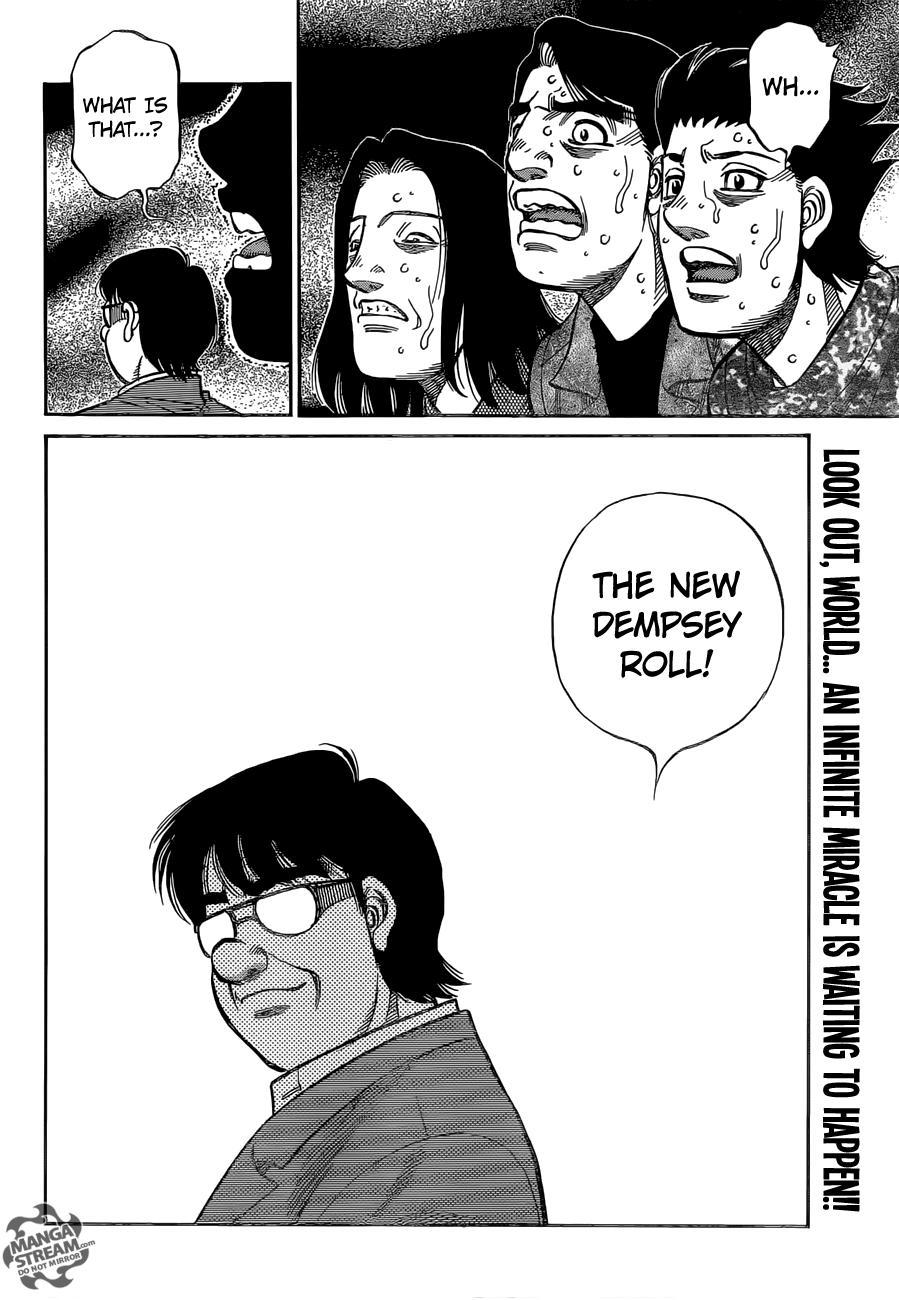 Hajime no Ippo - Chapter 1148