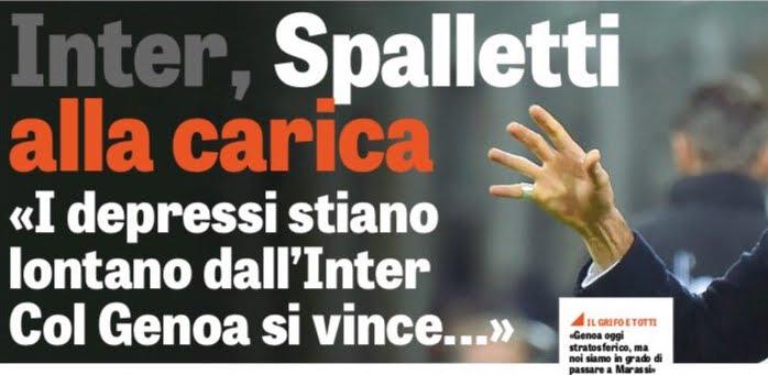 Le vignette divertenti di Genoa-Inter Foto Spalletti alla carica