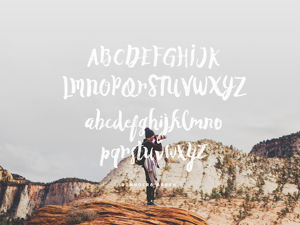 Download Duwhoers Brush Font Free