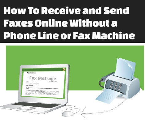 fax machine phone line