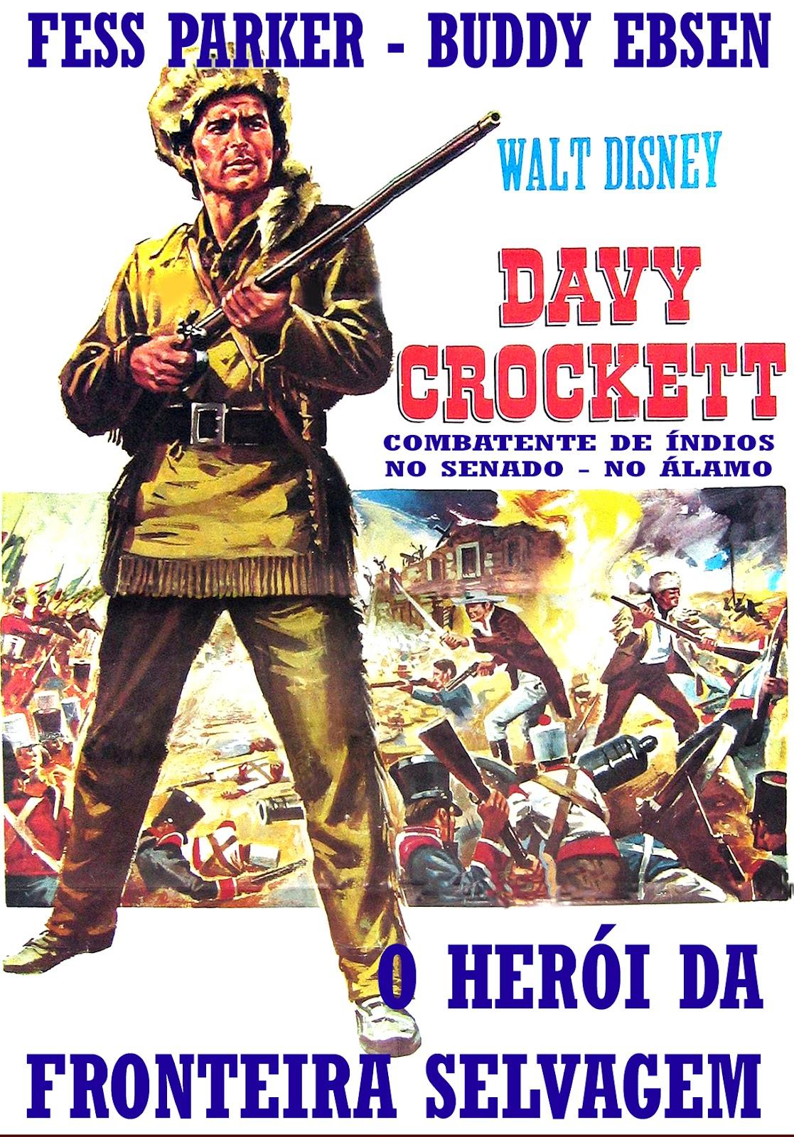 Poster do filme Davy Crockett - O Herói das Montanhas