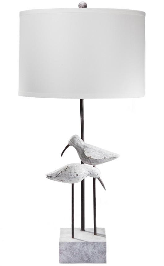 Elegant Seagulls Table Lamp