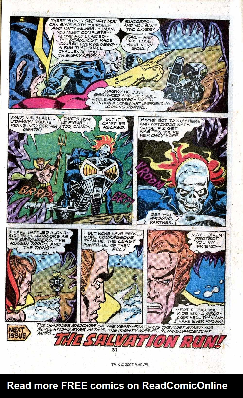 Ghost Rider (1973) Issue #17 #17 - English 33