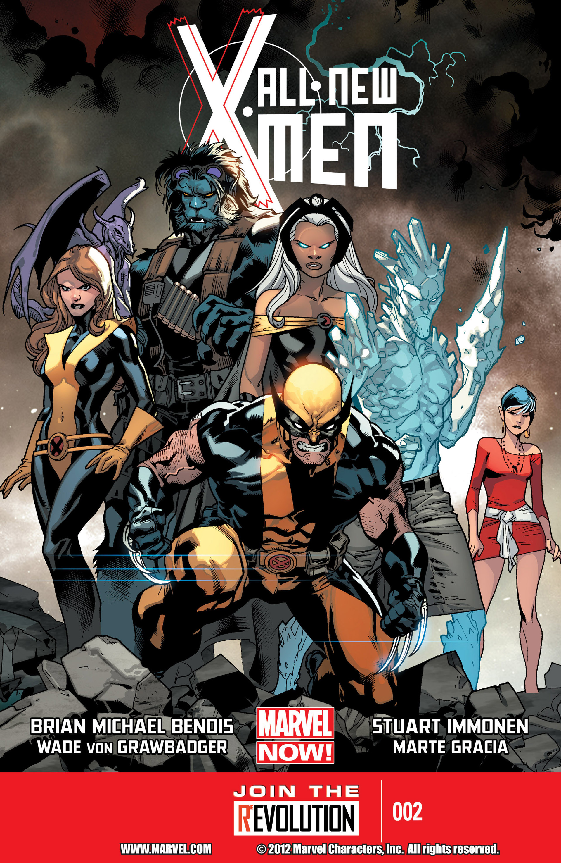 Read online All-New X-Men (2013) comic -  Issue #2 - 1