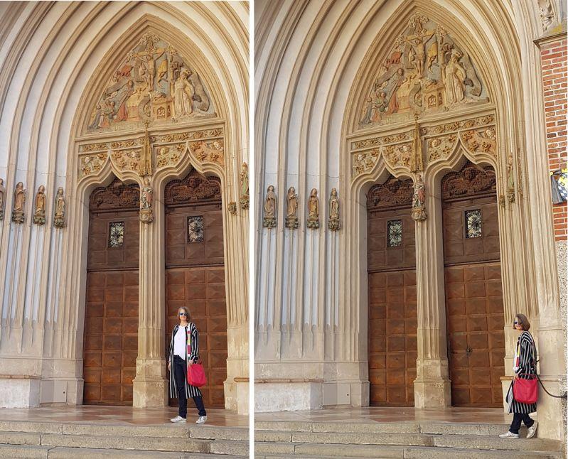 Portal der Martinskirche in Landshut