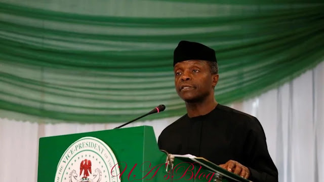 Why Nigeria is lucky to have Buhari as president – Osinbajo