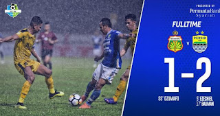 Bhayangkara FC vs Persib Bandung 1-2 Video Gol & Highlights