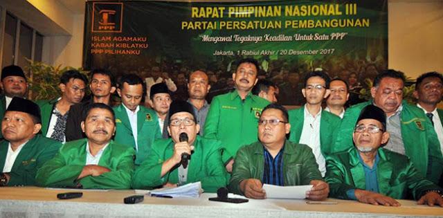 32 DPW PPP Desak Djan Faridz Cabut Dukungan Ke Jokowi