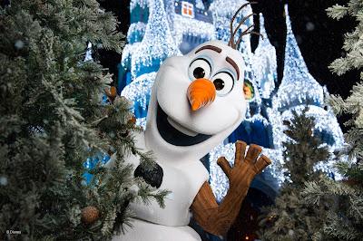 Olaf - no Magic Kingdom