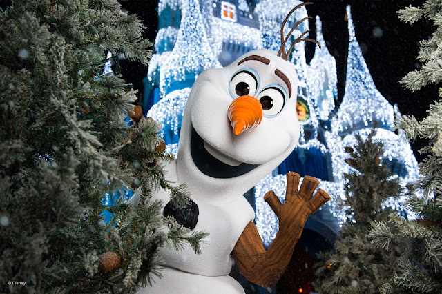 Olaf - no Magic Kingdom