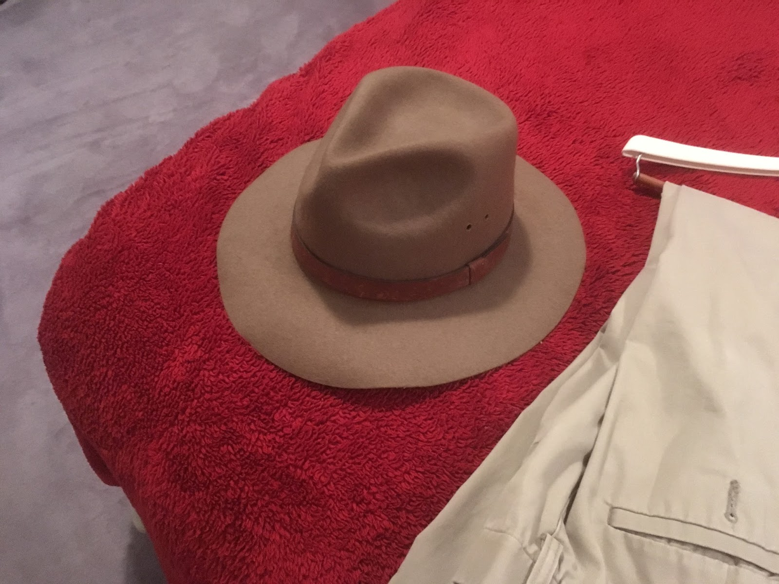 Indiana jones the iron tailor the hat of course ive been wearing this one since the original movie came out it is the right color and shape even if the band is not the wide black solutioingenieria Images