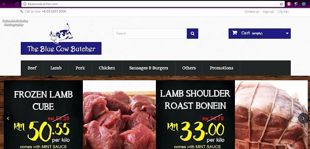 BlueCowButcher.Com Easy, User-Friendly & Convenient To Use Website