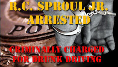 RC Sproul Jr drunk driving arrest