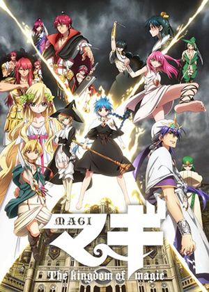 Magi: The Kingdom of Magic [25/25] [HD] [MEGA]