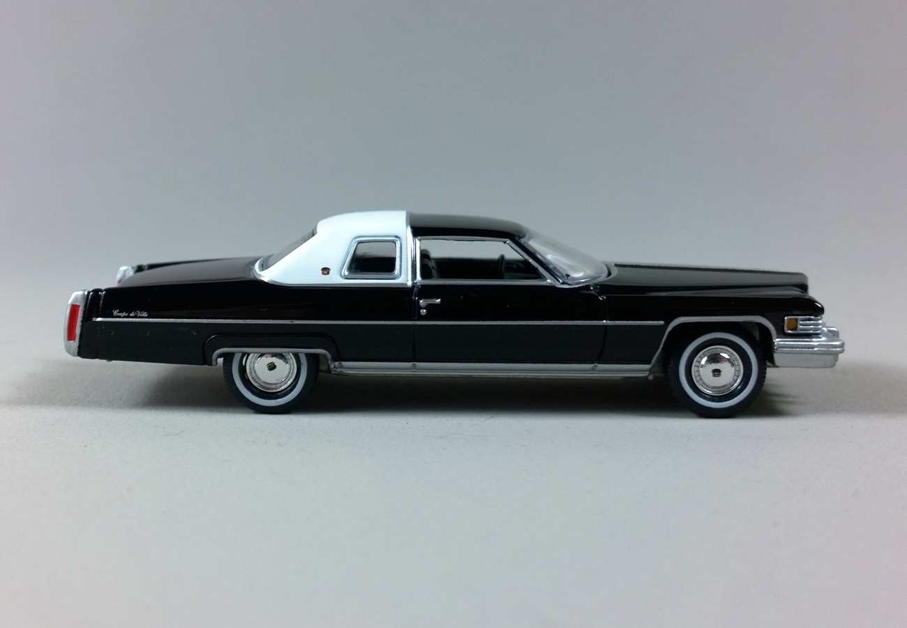 Sixty Four Ever Diecast 1976 Cadillac Coupe DeVille By