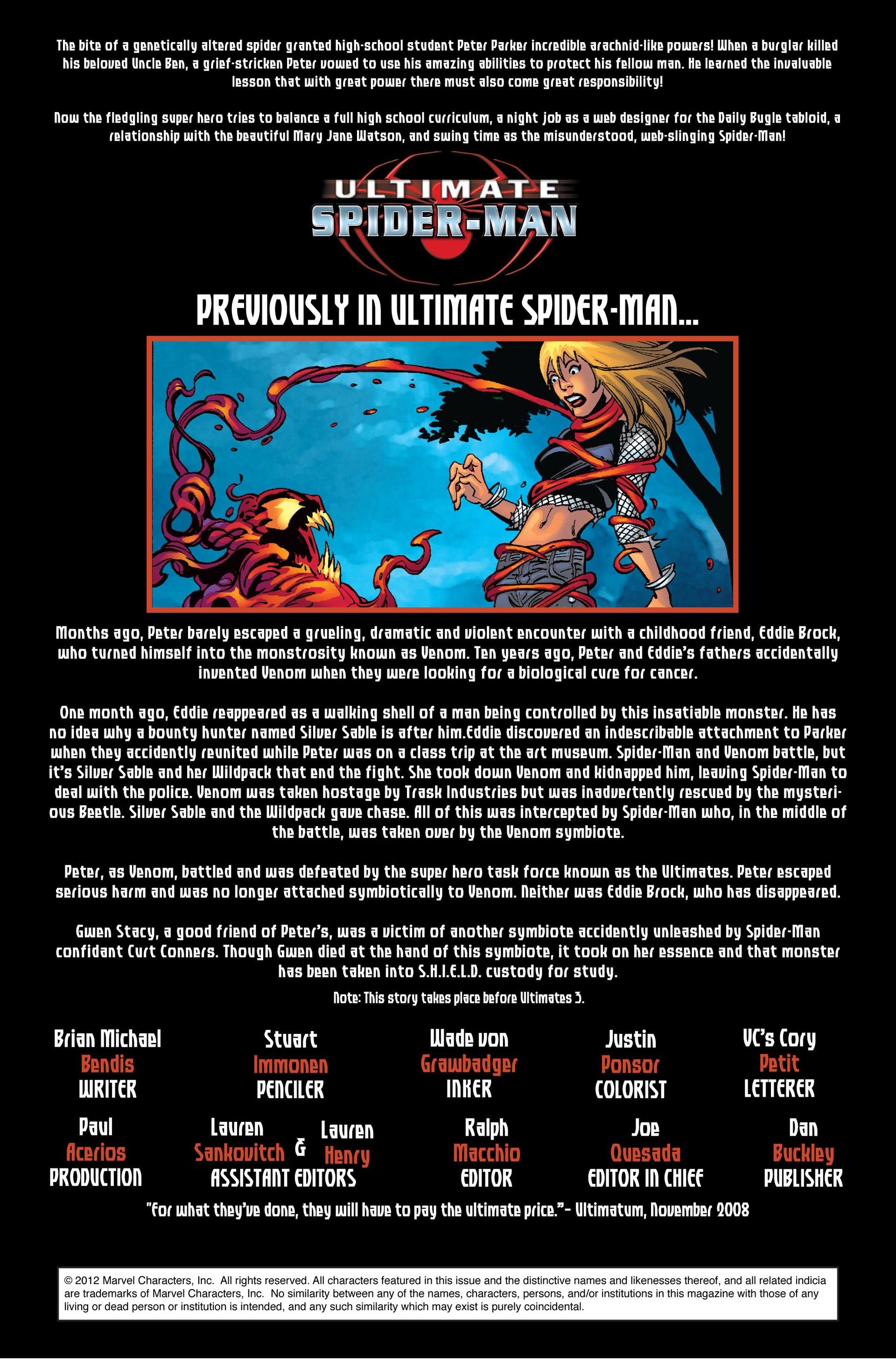 Read online Ultimate Spider-Man (2000) comic -  Issue #127 - 2