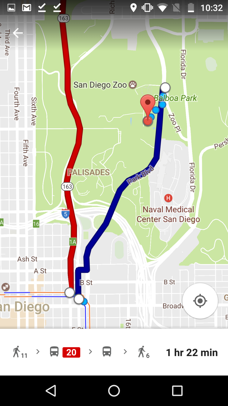 san diego, google maps, and the mts bus system part 2