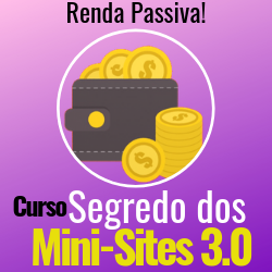 Curso Segredo dos Mini Sites 3.0 Funciona