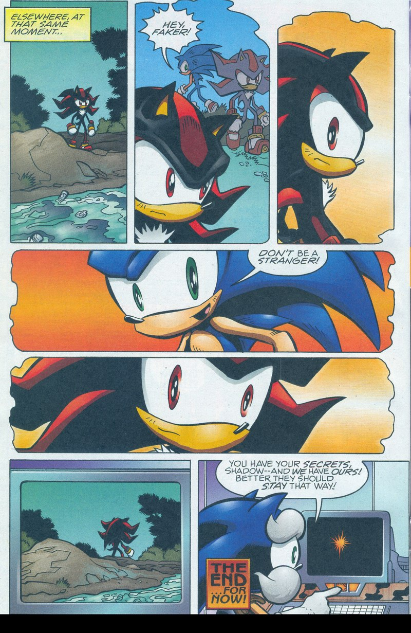 Read online Sonic The Hedgehog comic -  Issue #159 - 17