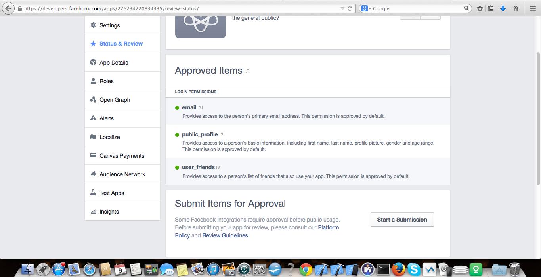 Status & Review Snapshot of my IOS app
