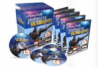 30 Minisite Minisite Blogspot Premium Desain + HTML & PSD Files