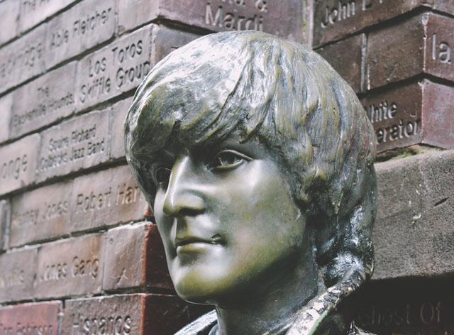 John Lennon Statue Mathew Street