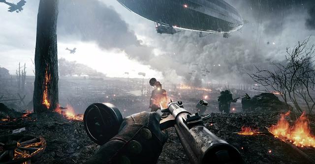 Reveladas las armas y su información de la beta abierta de Battlefield 1