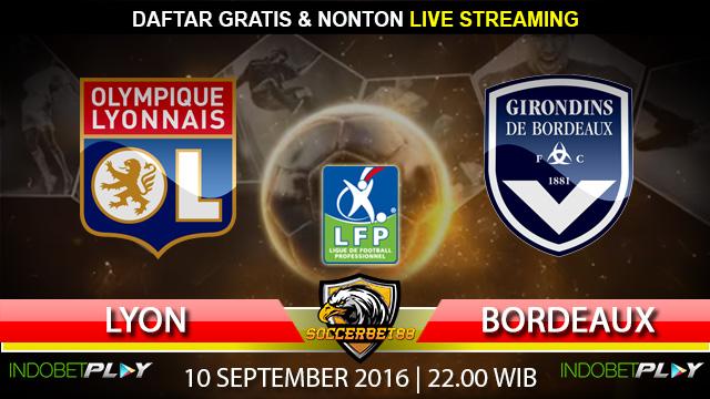 Prediksi Lyon vs Bordeaux 10 September 2016 (Liga Prancis)