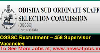 OSSSC-Recruitment-456-Supervisor-Vacancies